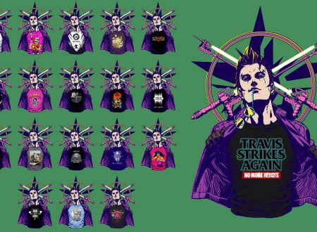 Travis Strikes Again: No More Heroes, mostrate altre magliette degli indie game