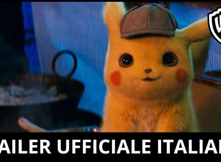 Warner Bros pubblica il primo trailer dedicato al film su Detective Pikachu