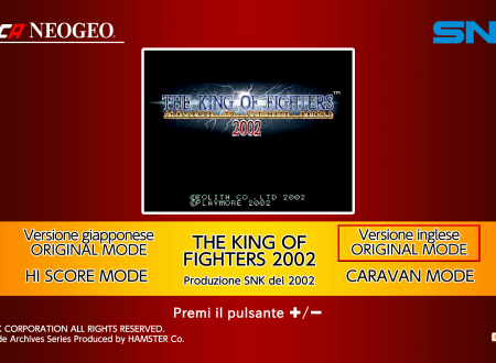 ACA NEOGEO The King of Fighters 2002: uno sguardo in video al titolo dai Nintendo Switch europei