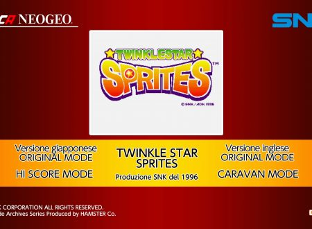 ACA NEOGEO Twinkle Star Sprites, uno sguardo in video al titolo dai Nintendo Switch europei
