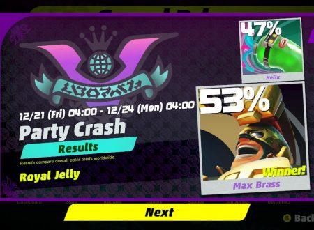 ARMS: Max Brass è il vincitore del 3° round del Party Crash Bash