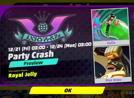 ARMS: rivelato il 3° Round del torneo Party Crash Bash: Helix vs. Max Brass
