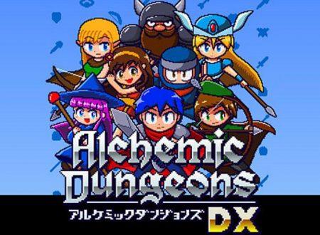 Alchemic Dungeons DX: il titolo è in arrivo il 14 febbraio sull'eShop di Nintendo Switch