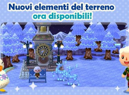 Animal Crossing: Pocket Camp, gli elementi del terreno innevati sono ora disponibili nel titolo mobile