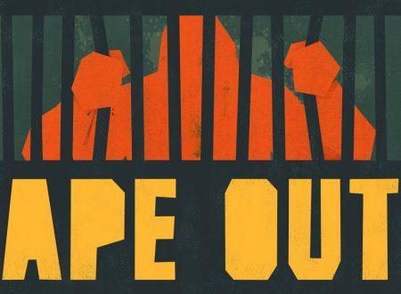 Ape Out: il titolo è in arrivo il 7 febbraio sull'eShop di Nintendo Switch