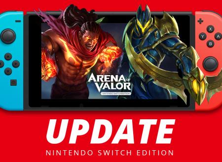 Arena of Valor: il titolo è stato ora aggiornato sui Nintendo Switch europei