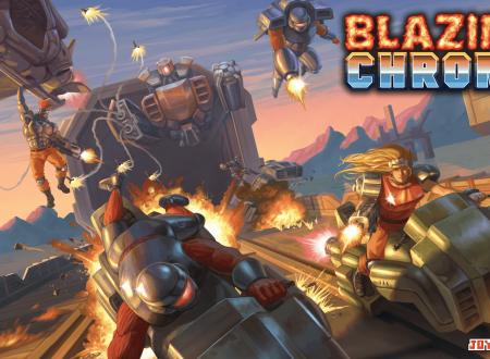Blazing Chrome: pubblicato un nuovo video gameplay dagli sviluppatori