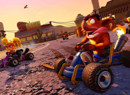 Crash Team Racing Nitro-Fueled, il titolo annunciato ed in arrivo anche su Nintendo Switch