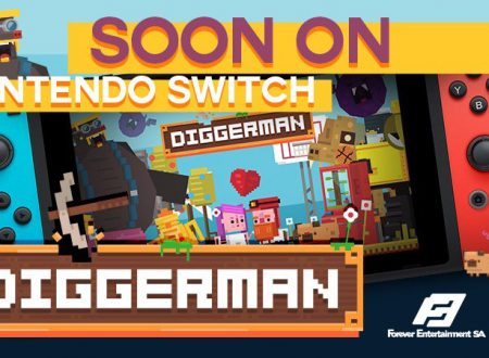 Diggerman: ll titolo è in arrivo il 24 dicembre sull'eShop di Nintendo Switch