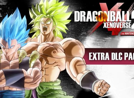 Dragon Ball Xenoverse 2: uno sguardo in video all'Extra Pack 4 con Gogeta e Broly