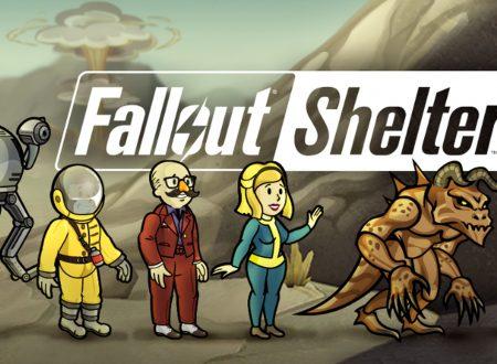 Fallout Shelter: il titolo è ora aggiornato alla versione 1.0.2 su Nintendo Switch