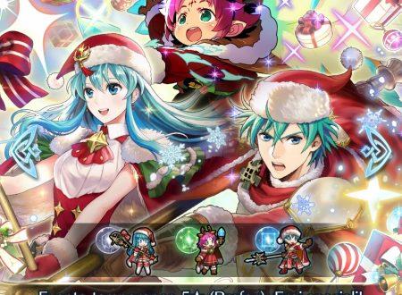 Fire Emblem Heroes: ora disponibili i nuovi eroi speciali: i doni d'inverno