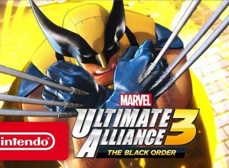 MARVEL ULTIMATE ALLIANCE 3: The Black Order, il titolo annunciato è in arrivo in esclusiva per Nintendo Switch