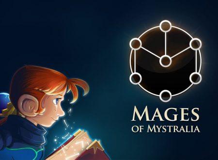 Mages of Mystralia: pubblicato il trailer di lancio del titolo su Nintendo Switch