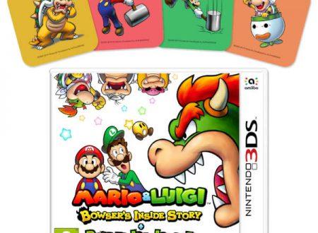 Mario & Luigi: Viaggio al centro di Bowser + Le avventure di Bowser Junior, il titolo è in preorder sul Nintendo UK Store