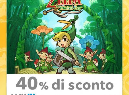My Nintendo: nuovi sconti per Animal Crossing: New Leaf – Welcome amiibo, The Legend of Zelda: The Minish Cap ed altri titoli