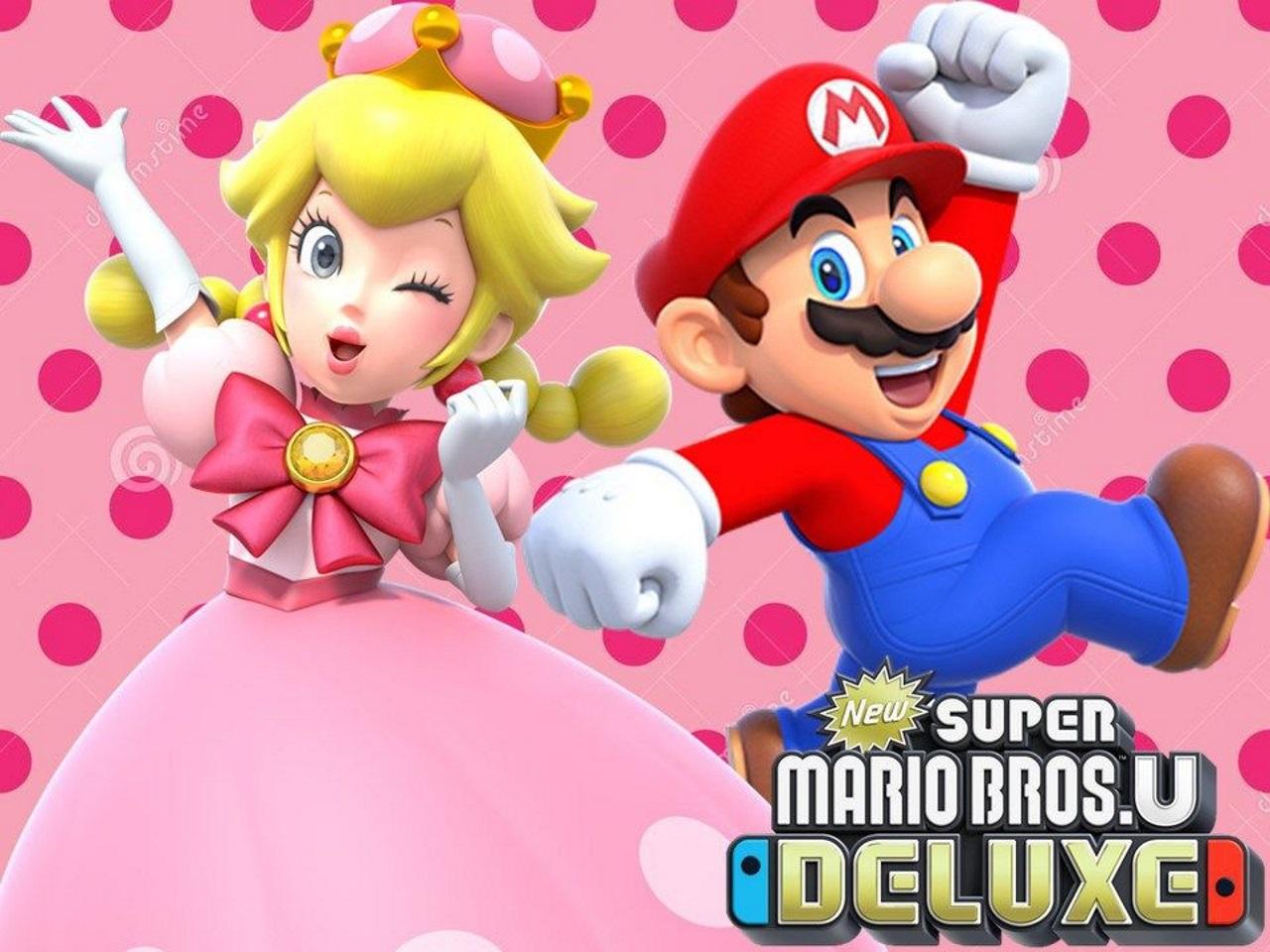 New Super Mario Bros U Deluxe Mostrati 15 Minuti Di Gameplay Del