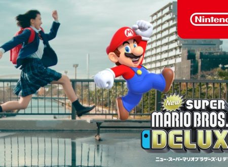 New Super Mario Bros. U Deluxe: pubblicato un video commercial giapponese sul titolo