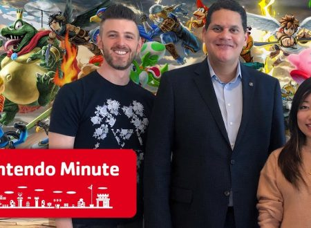 Nintendo Minute: Reggie Reacts to Super Smash Bros. Ultimate con Kit e Krysta