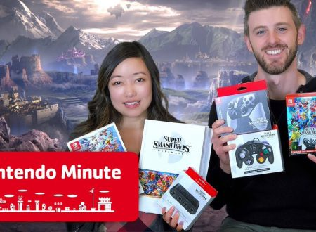 Nintendo Minute: unboxing di Super Smash Bros. Ultimate Team Battle con Kit e Krysta