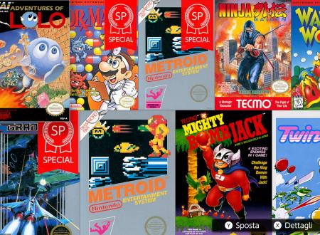 Nintendo Switch Online: Metroid e Dr. Mario Special, Adventures of Lolo, Ninja Gaiden e Wario's Woods ora disponibili