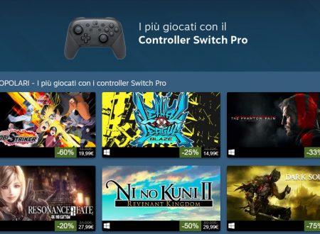Nintendo Switch: STEAM rivela i titoli più giocati dall'utenza con il Pro Controller