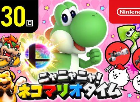 Nyannyan Neko Mario Time: pubblicato l'episodio 130 dello show felino con Mario e Peach