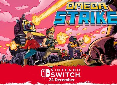 Omega Strike: il titolo è in arrivo il 24 dicembre sull'eShop di Nintendo Switch