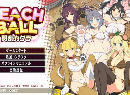 Peach Ball: Senran Kagura, i nostri primi 33 minuti di gameplay dai Nintendo Switch giapponesi