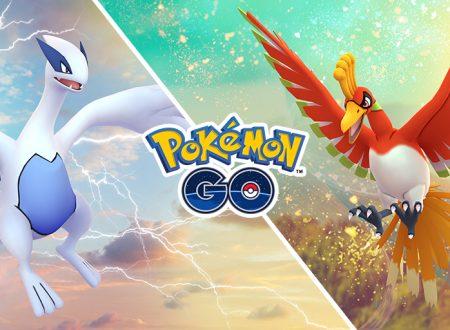 Pokémon GO: Lugia e Ho-Oh saranno di nuovo sfidabili nei raid speciali di dicembre