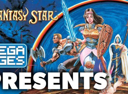 SEGA Ages: Phantasy Star, pubblicato il trailer di lancio europeo del titolo