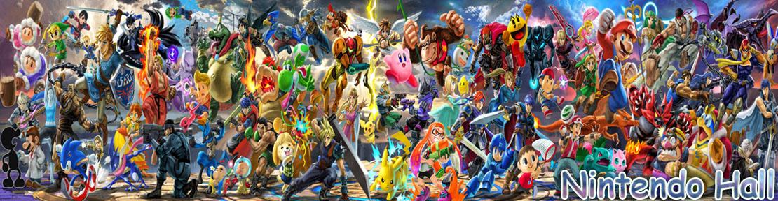 Smash Ultimate Banner Nintendo Hall Website