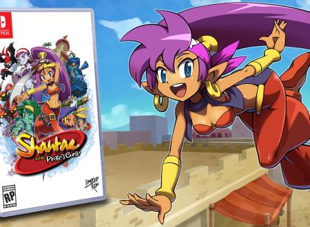 Shantae and the Pirate's Curse: annunciata la versione retail del titolo per i Nintendo Switch americani