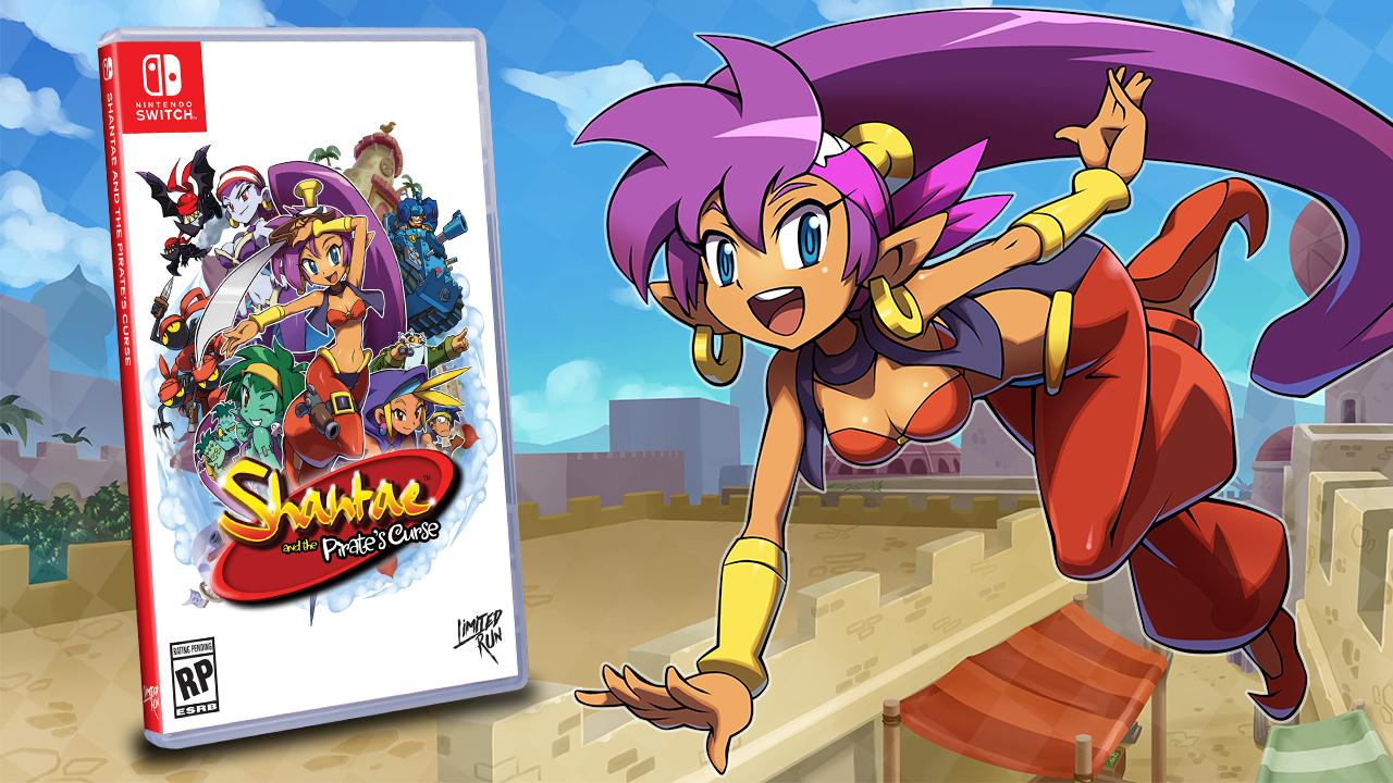 Shantae and the Pirate's Curse: annunciata la versione retail del