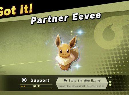 Super Smash Bros. Ultimate: gli spiriti di Pikachu e Eevee saranno sbloccati con i salvataggi di Pokèmon Let's Go