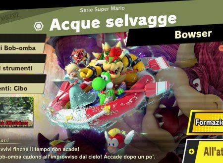 Super Smash Bros. Ultimate: l'evento, Mario e il suo mondo è ora disponibile nel titolo