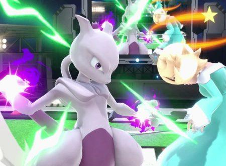 Super Smash Bros. Ultimate: novità del 6 dicembre, Mewtwo, il Pokémon leggendario creato dall'uomo