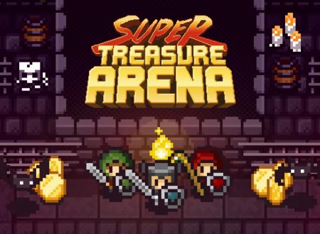 Super Treasure Arena: il titolo è in arrivo il 24 dicembre sull'eShop di Nintendo Switch