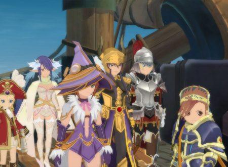Tales of Vesperia: Definitive Edition, pubblicati dei nuovi screenshots sulla personalizzazione dei personaggi