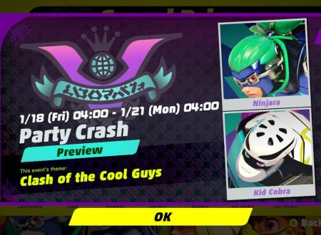ARMS: rivelato il 5° Round del torneo Party Crash Bash: Ninjara vs. Kid Cobra