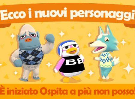 Animal Crossing: Pocket Camp: Glacido, Lupilla e Grigilio sono i tre nuovi animali presenti nel titolo