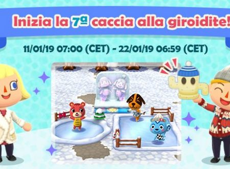 Animal Crossing: Pocket Camp, ora disponibile la settima caccia alla giroidite