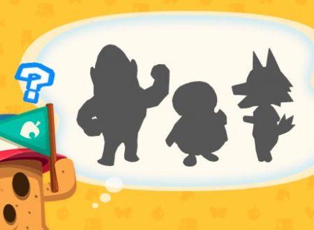 Animal Crossing: Pocket Camp: svelati tre nuovi animali in arrivo questa settimana nel titolo