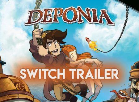 Deponia: il titolo è in arrivo il 27 marzo sull'eShop di Nintendo Switch