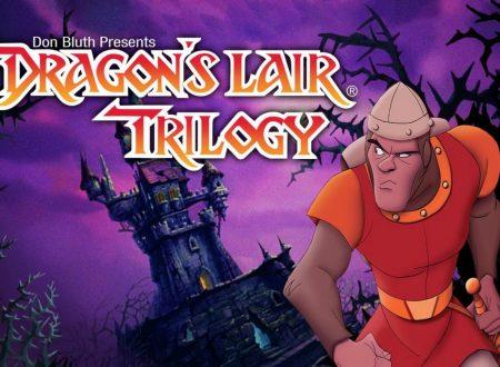 Dragon's Lair Trilogy: uno sguardo in video al titolo in arrivo settimana prossima sui Nintendo Switch europei