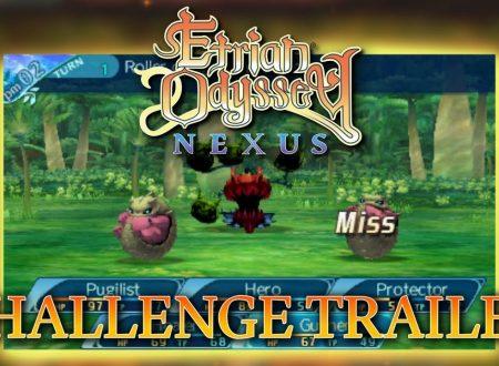 """Etrian Odyssey Nexus: pubblicato il trailer """"Challenge"""" dedicato al titolo"""
