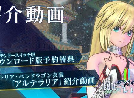 Fate/Extella Link: pubblicato un nuovo trailer dedicato ad Artoria Pendragon