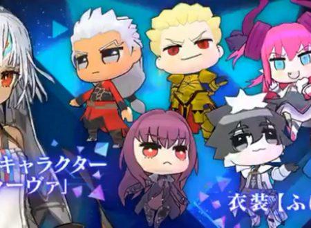 Fate/Extella Link: rivelata la presenza dei DLC di Attila Larva e le figure chibi PuniPuni