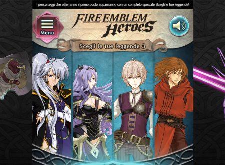 Fire Emblem Heroes: annunciato la nuova votazione, Scegli le tue Leggende 3, ora disponibile sul sito ufficiale