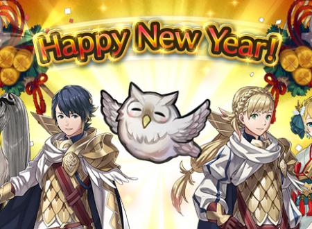 Fire Emblem Heroes: da ora disponibile la Celebrazione dell'anno nuovo